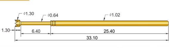 SP-075 探针尺寸